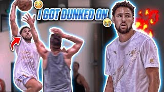 KLAY THOMPSON GOES OFF In Pickup Game 🔥 | Jordan Lawley Basketball