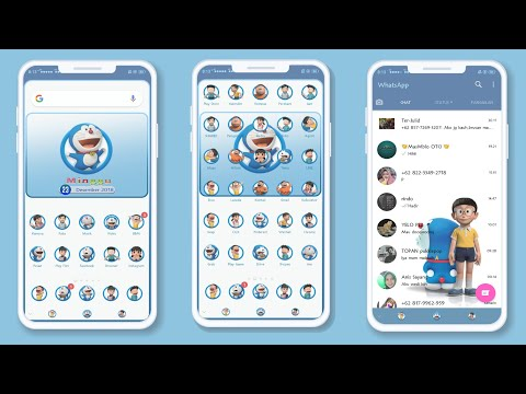 DORAEMON UHUY ( Theme For All OPPO and Realme)
