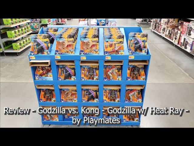REVIEW - Godzilla vs. Kong - Godzilla w/ Heat Ray figure - by Playmates
