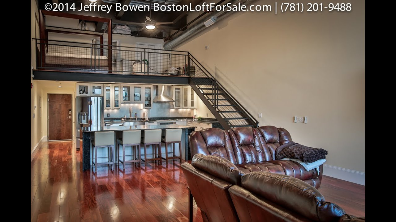 950 broadway 25 chelsea ma 02150 customized penthouse bi level industrie loft for sale youtube. Black Bedroom Furniture Sets. Home Design Ideas