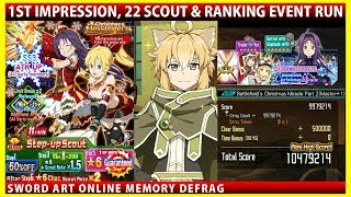 Christmas Messengers 1st Impression, 22 Scouts & Battlefield Christmas Miracle Part 2 Run (SAOMD)
