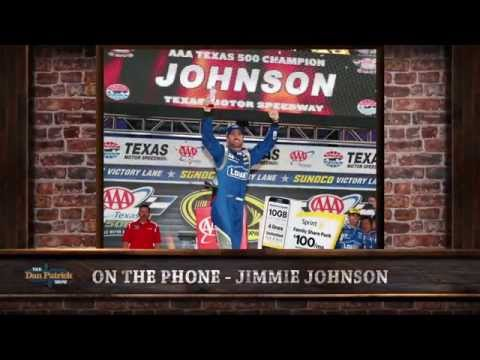 Jimmie Johnson on The Dan Patrick Show (Full Interview) 11/09/2015