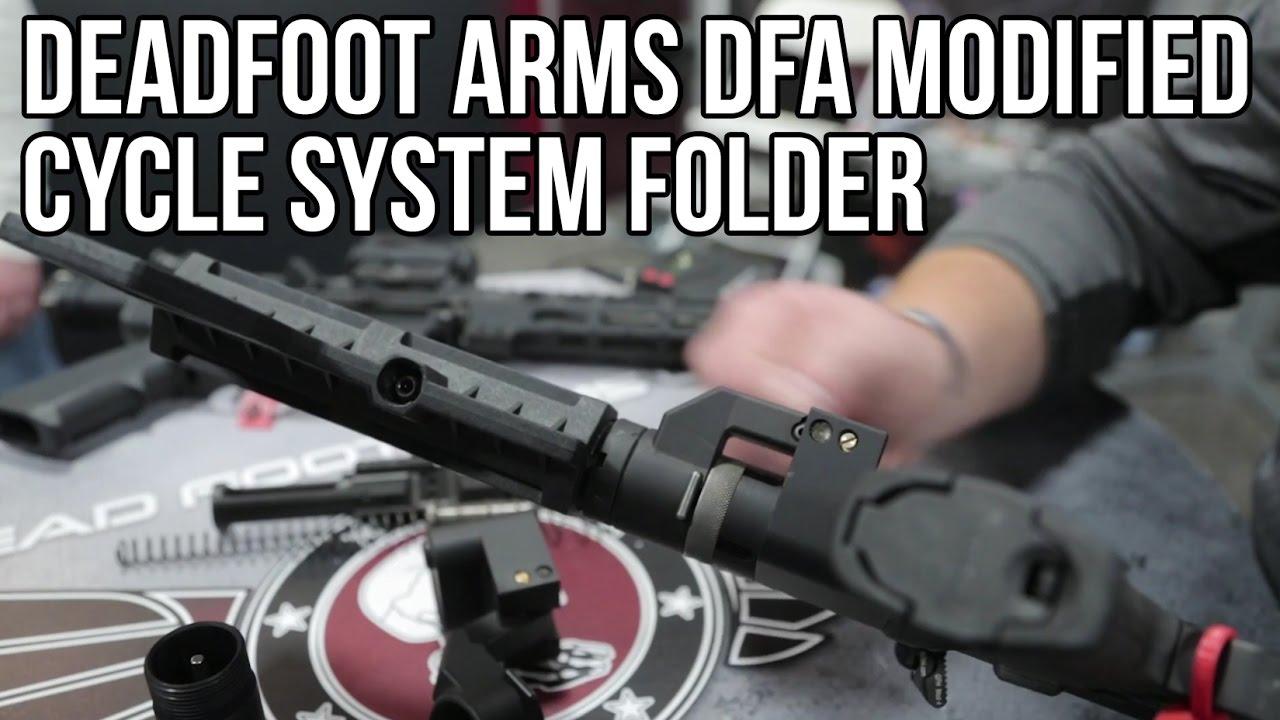 Dead Foot Arms LLC | AR15 Side Folding Stocks & Accessories