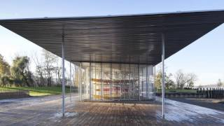 Boat Pavilion For Long Dock Park Receives A 2013 Institute Honor Award For Architecture From The Aia