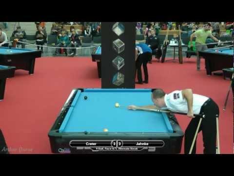 Mezz Cues German Open 2012, Christophe Creter vs Bernd Jahnke, 9-Ball