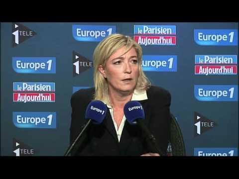 """Pour Le Pen, Noah est """"un déserteur"""""""