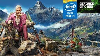 Far Cry 4 - i3 4170 / GTX 950 1080p Ultra