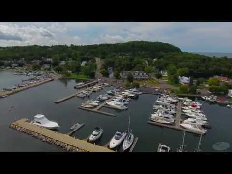 2016 Fish Creek Aerial Drone Video Fish Creek, Wi 54212