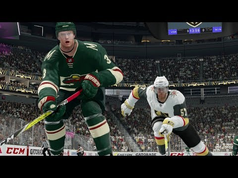 NHL 18 Vegas Golden Knights vs Minnesota Wild Gameplay (Full