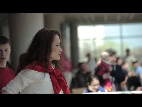 МУЗАРТЕРИЯ-2013. Мария Берсенева на флэшмобе Сердце будет биться в Перми. Полная версия.