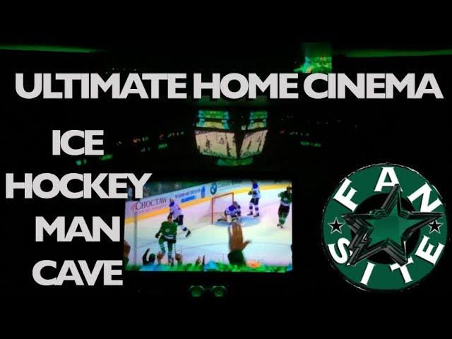 Dallas Stars Home Cinema Man Cave | Pre Game Intro