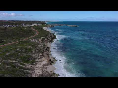 Ocean Reef Marina Drone Flyover