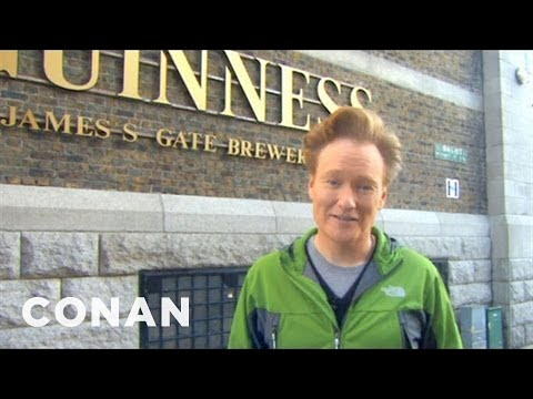 Conan Visits The Dublin Guinness Brewery  CONAN on TBS