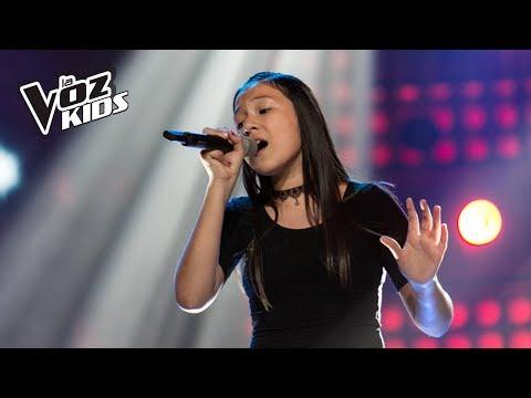 Karla canta Sueños Rotos - Audiciones a ciegas | La Voz Kids Colombia 2018