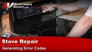whirlpool stove repair not baking and generating error codes mer8880ab0