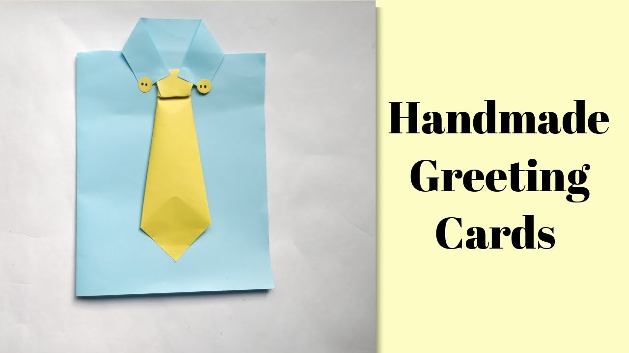 How To Make Customized Greeting Cards Handmade Card Tutorial Youtube