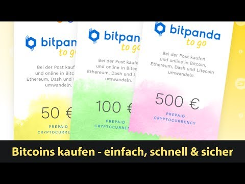 Bitcoins kaufen einfach, schnell & sicher in jeder Post, österreichweit (Bitpanda to go)
