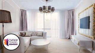 Ремонт двухкомнатной квартиры в классическом стиле  | Ремонт квартир в спб