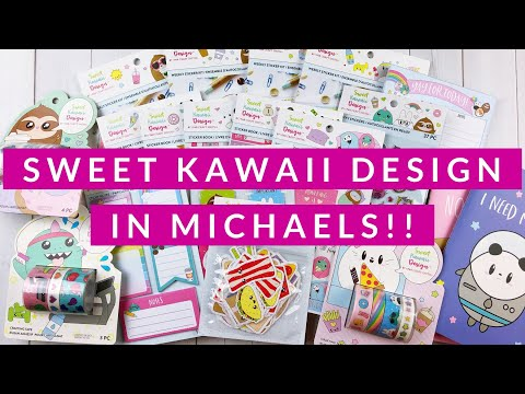 Sweet Kawaii Design is coming to Michaels!