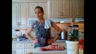 How To Bbq Pork Ribs: Cooking Adventures With Kimberly