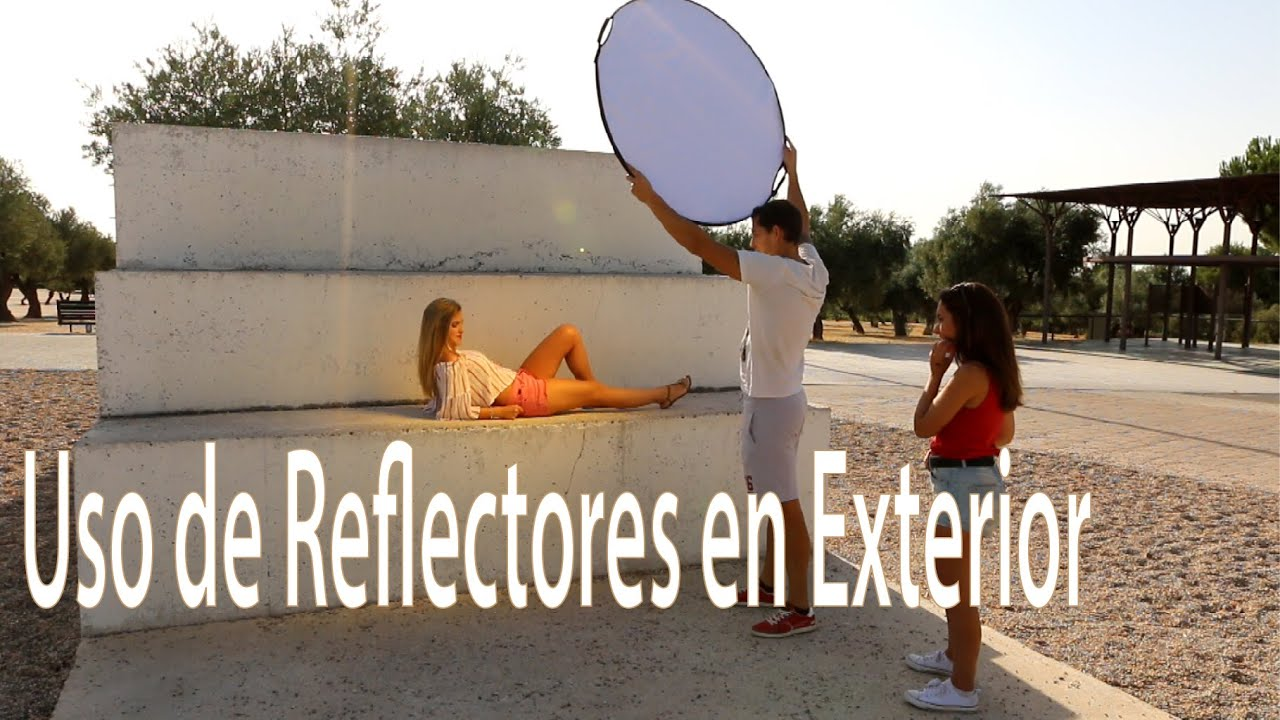 Uso De Reflectores 5 En 1 En Exterior Youtube
