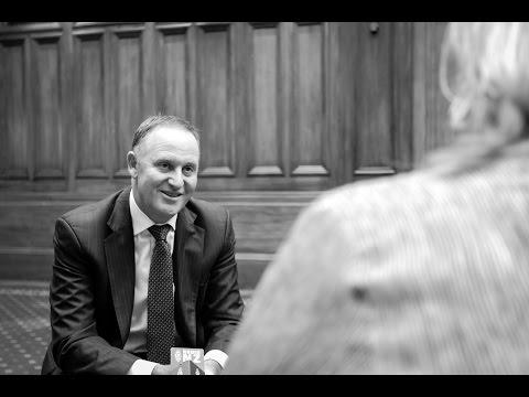 John Key's final interview as MP