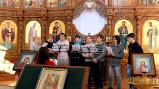 Церковный хор(г. Макеевка Церковь при ЗАО