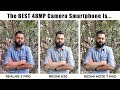 Realme 5 Pro Vs Redmi K20 Vs Redmi Note 7 Pro ⚡ 48mp Camera Comparison!