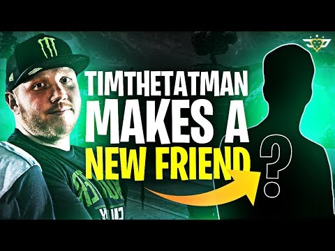 TIMTHETATMAN MAKES A NEW FRIEND! HE'S A FAMOUS SINGER! (Fortnite: Battle Royale)