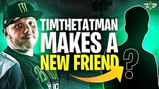 TIMTHETATMAN MAKES A NEW FRIEND! HE