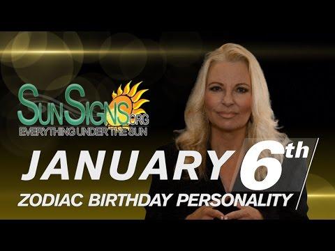 Facts & Trivia - Zodiac Sign capricorn January 6th Birthday Horoscope