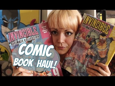 Comic & Graphic Novel Haul | May 2017