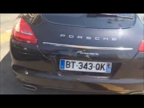 Porsche Panamera é Taxi em Marseille // Top Drive na Europa