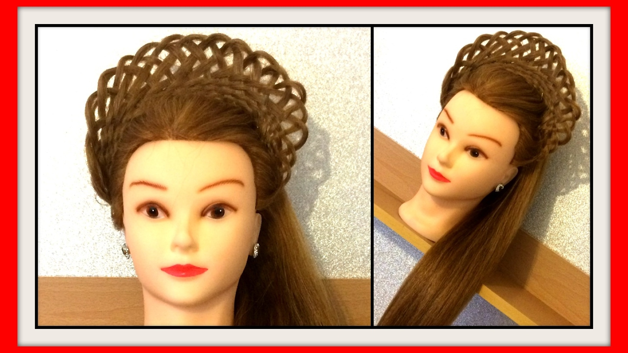basket weave hair style basket weave crown braid hairstyle hairglamour styles 8896