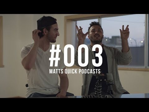 Behind the Lens with Adam Thom | Matts Quick Podcast #003
