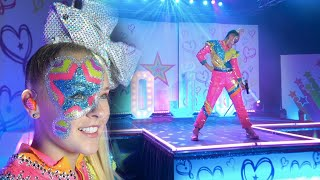 Jojo Siwa Worldwide Live 6 0 Boomerang Kid In A Candy Store High Top Shoes D R E A M Youtube