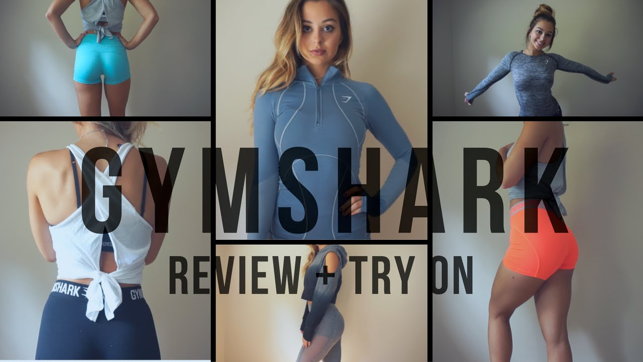 94e66ce325a2 NEW GYMSHARK | TRY ON REVIEW - YouTube