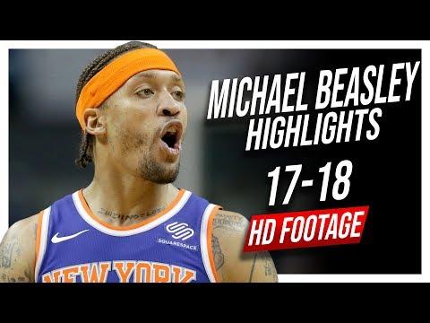 Knicks PF Michael Beasley 20172018 Season Highlights ᴴᴰ