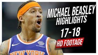 Knicks PF Michael Beasley 2017-2018 Season Highlights ᴴᴰ