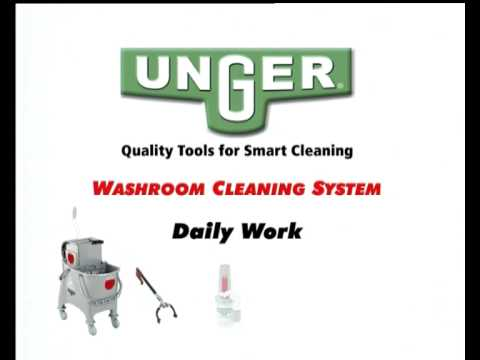 Washroom daily cleaning - 01 - Daily Work
