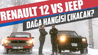 Renault 12 vs Jeep | Which one will reach to mountain peak?