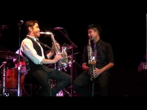 Dave Koz with Austin Gatus