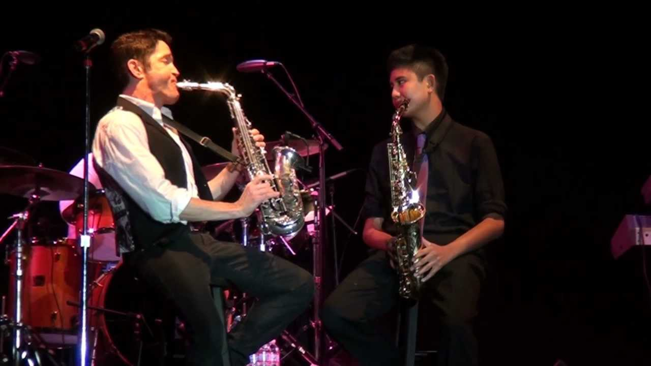 Dave Koz With Austin Gatus Faces Of The Heart Saxophone Duet Youtube