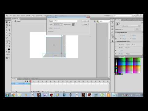 How to Create 3D Cube In Flash