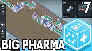 Big Pharma #7 Es zählt nur der Gewinn Der Pillen Fabrik Simulator BETA Gameplay