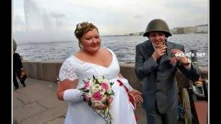 Пьяная невеста с женихом.  Приколы +18. Drunk bride and bridegroom. Comedy 18.