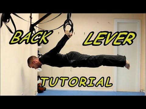 Back Lever Progression Rings