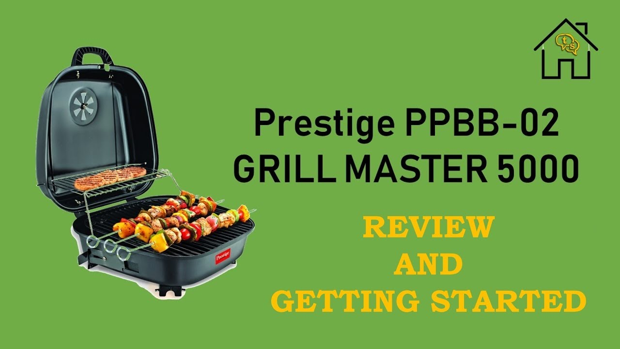 Prestige Ppbb 02 Grill Master 5000 Coal Barbeque Review And Getting Started