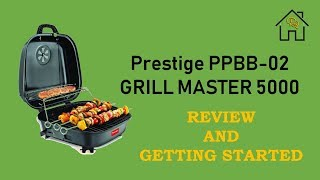Prestige PPBB-02 / Grill Master 5000 Coal Barbeque Grill - Review and Getting Started