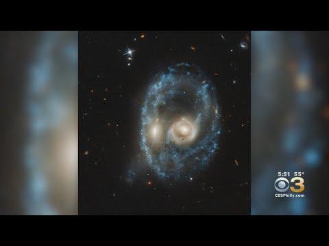 NASA's Hubble Telescope Spots Spooky Face In Space